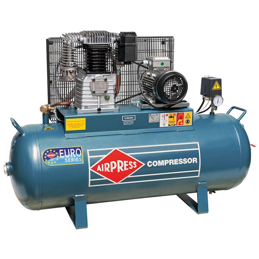 Professionele zuigercompressor Airpress 600/200 1
