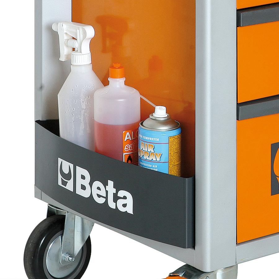 Beta gereedschapswagen met 7 laden - grijs 5
