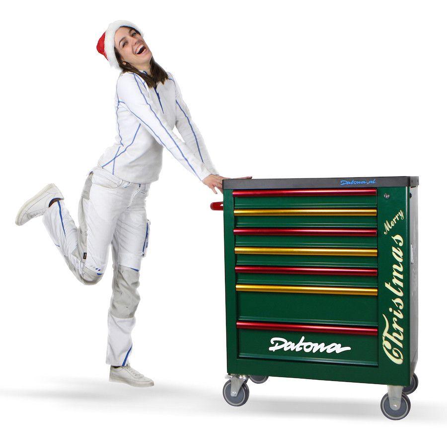 """opbergen gereedschap wagen verrijdbaar """"Merry Christmas"""" SPECIAL EDITION"""