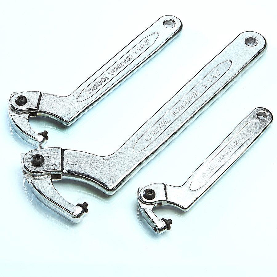 Haaksleutel met pen 19 - 50 mm 4