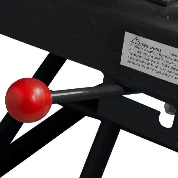 Heftafel voor motor of quad hydropneumatisch - zwart 6