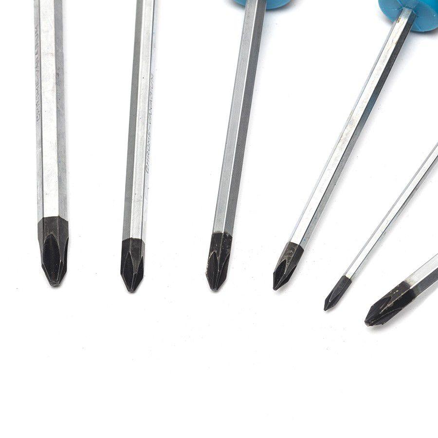 "6-delige kruiskopschroevendraaier set in ""Plus"" softmodule 9"