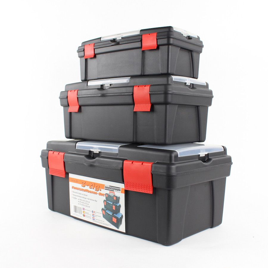 Gereedschapskofferset 3-delig Mannesmann 1