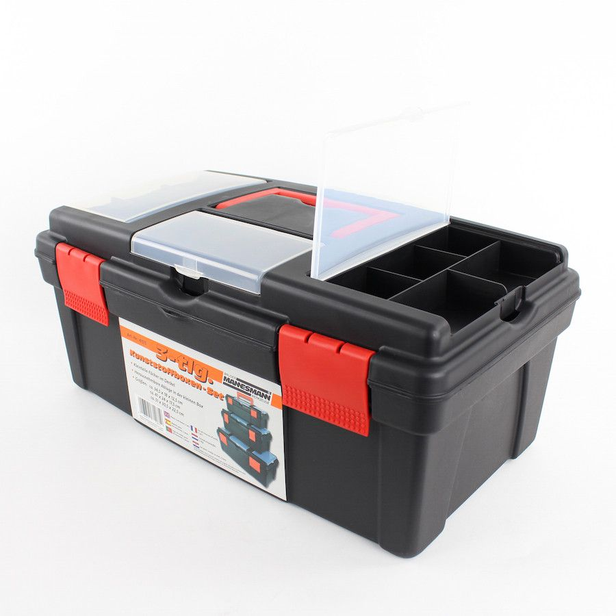 Gereedschapskofferset 3-delig Mannesmann 8