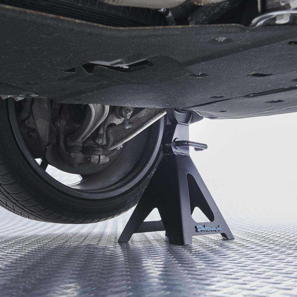Sterke 6 ton assteun onder auto