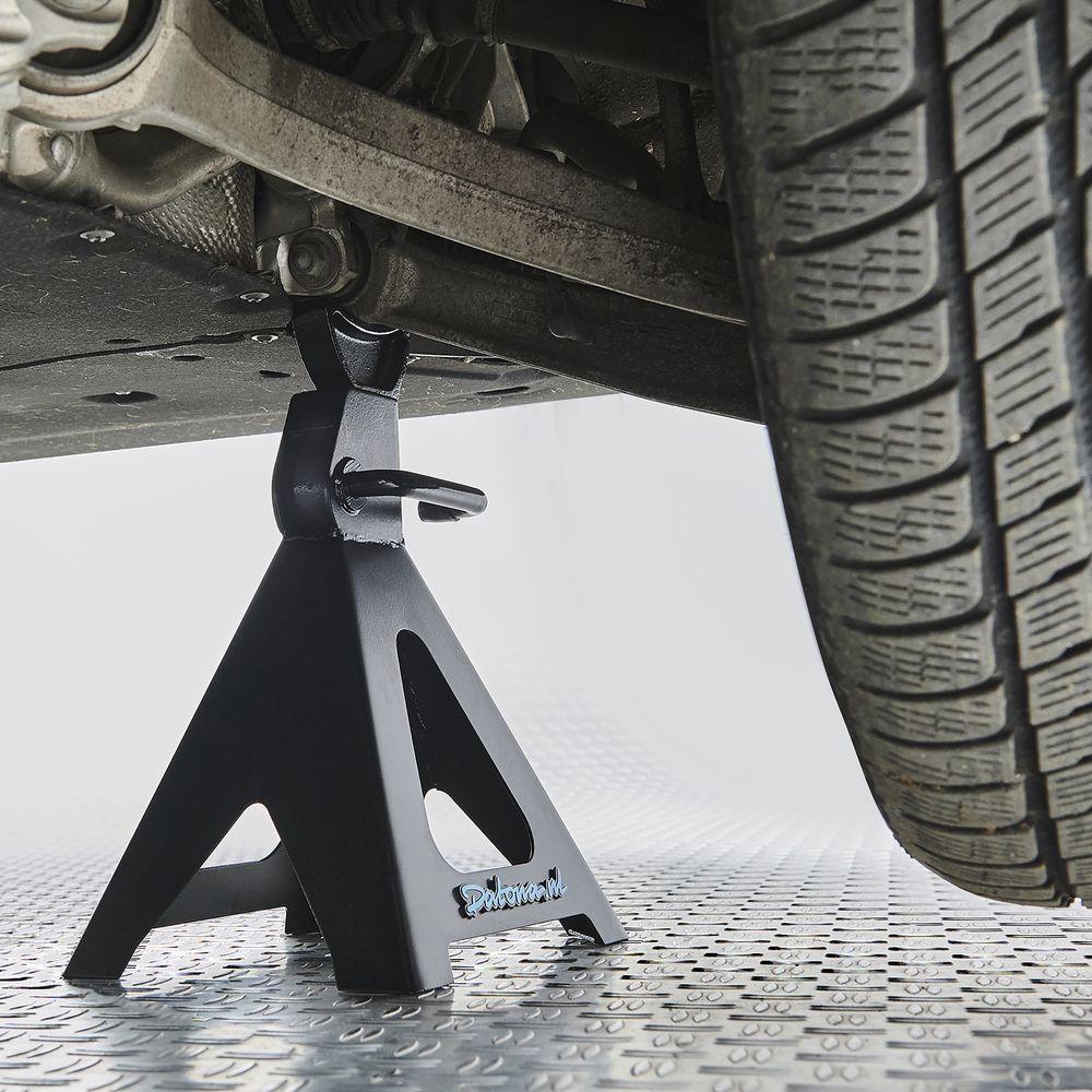 Assteunen Autoset 6 ton onder auto