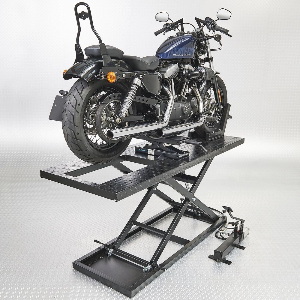 Motorheftafel met minilift Datona
