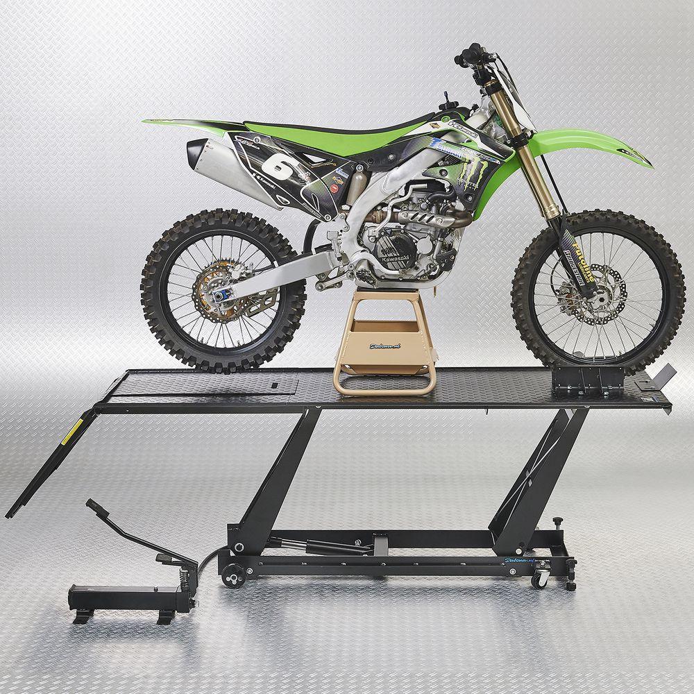 Zijkant motorheftafel 450 kg