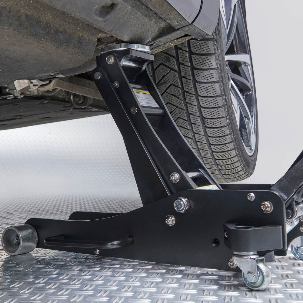 Datona aluminium krik onder de auto