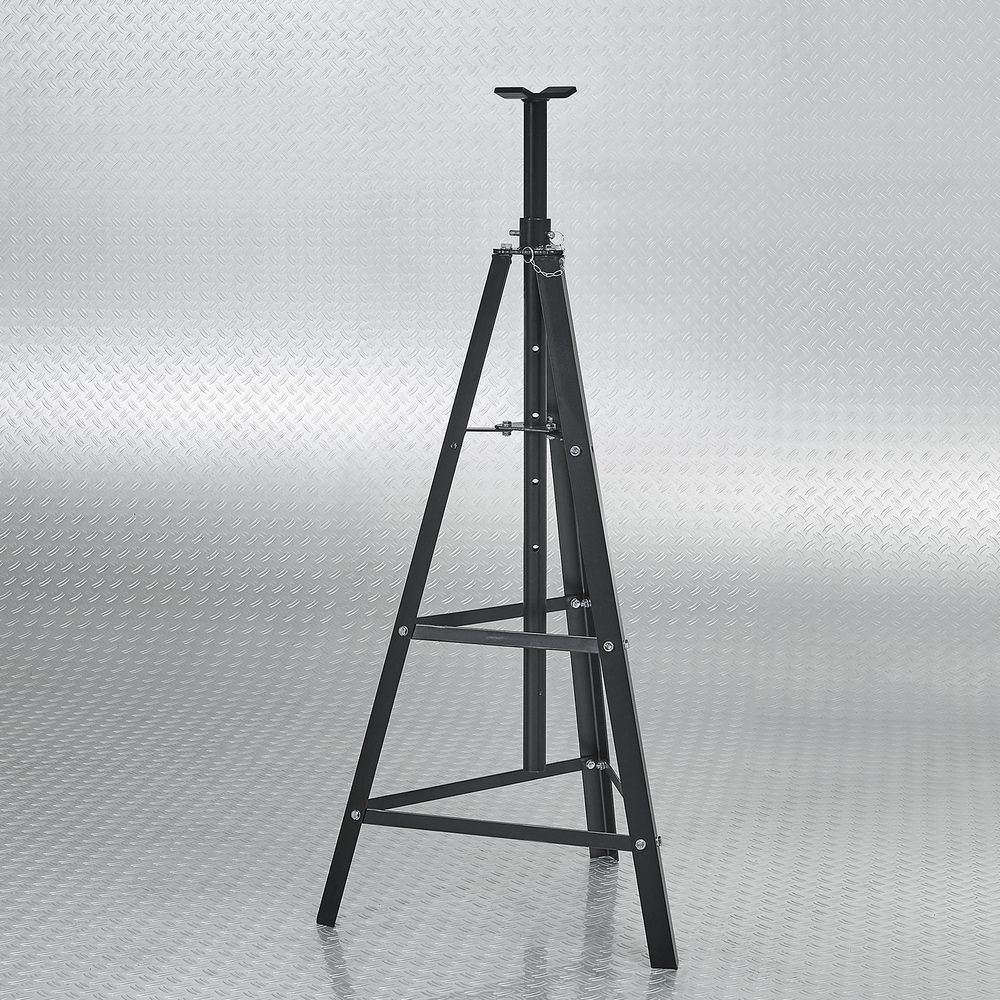 Sterke driehoeksconstructie hoge assteun 2 ton