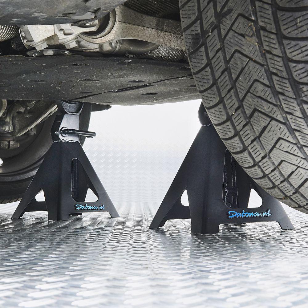 Assteunen Autoset 6 ton onder suv
