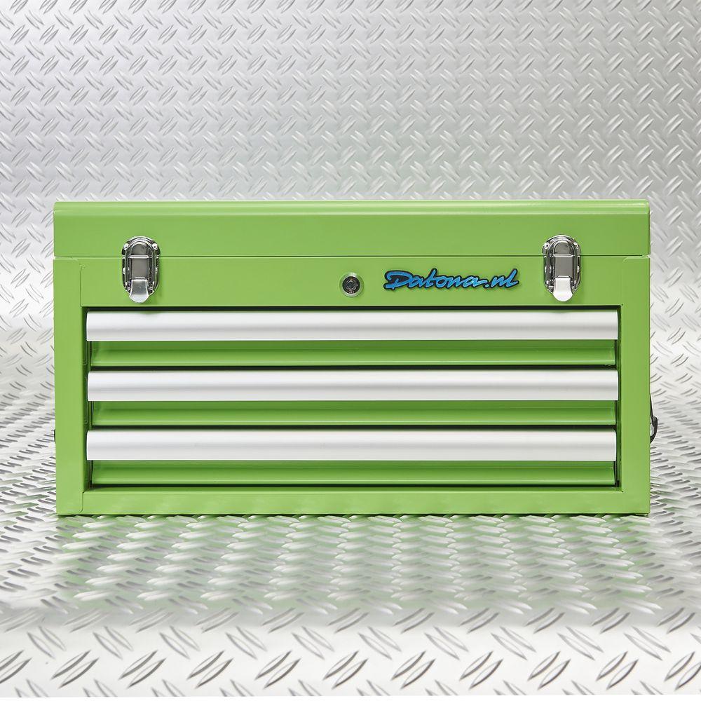 Datona gereedschapskist groen 51101 green