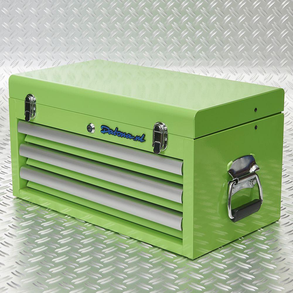 Datona toolbox groen 3 lades 51101 green