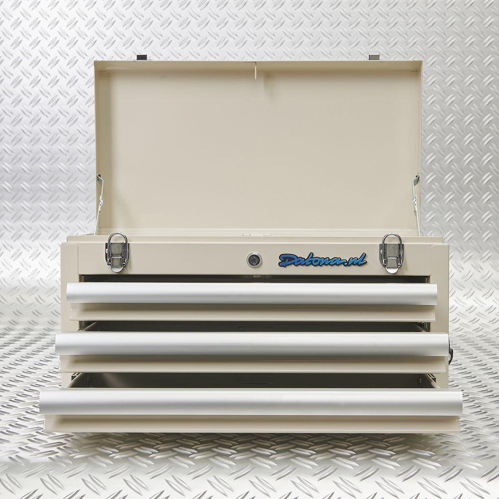 deksel en lades toolbox open 51101 white