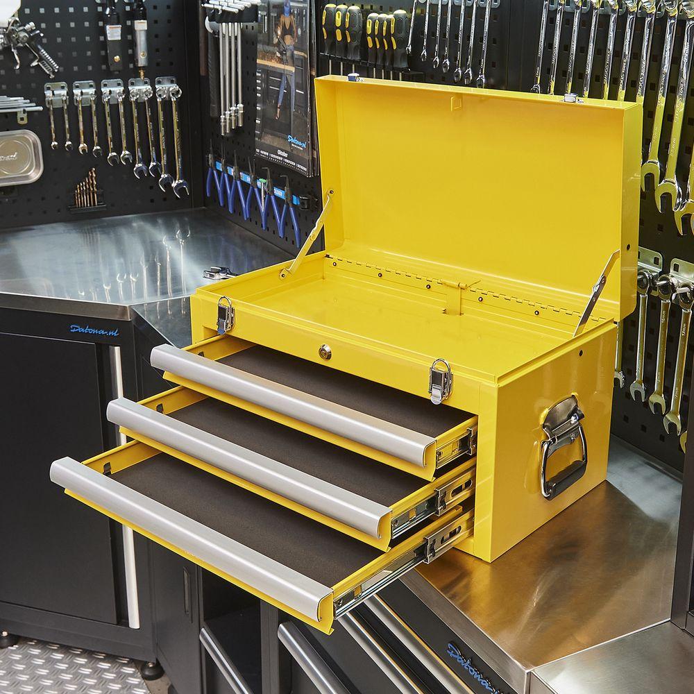 gele gereedschapskist datona 51101 yellow