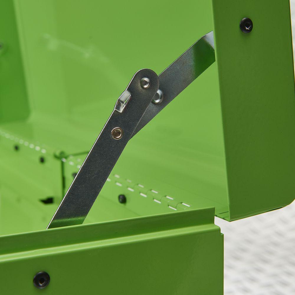 scharnier van groene koffer 51101 green