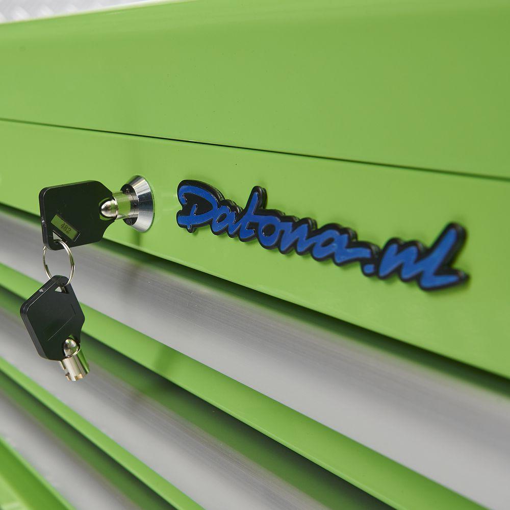 slot met sleutel op toolbox 51101 green