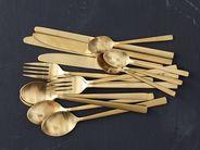 Bitz Chopsticks Goud 2 Stuks