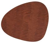 LIND DNA Placemat Leer Croco Cognac 37 x 44 cm