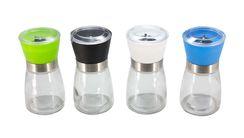 Peper- en Zoutmolens Glas - 4 Stuks