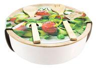 Saladebak met Bestek Ø 30 cm