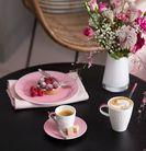 Villeroy & Boch Ontbijtschotel Caffe Club Floral Roze ø 17 cm