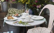 Villeroy & Boch Ontbijtschotel Caffe Club Floral Wit ø 17 cm