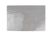 Yong Placemat Rechthoek Zwart Stripes 45 x 30 cm