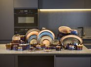 Cosy & Trendy Serveerschaal Quintana Blue 26 x 23 cm