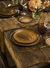 Cosy & Trendy Serveerschaal Quintana Amber 30 x 19 cm