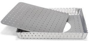 Patisse Quichevorm Silver Top Losse Bodem 21 x 21 cm