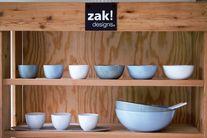 Zak Designs Slakom Fjord Groen Ø 24 cm