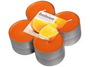 Bolsius maxi geurlichten Aromatic Juicy Orange - 8 stuks