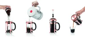 Bodum Cafetiere Chambord Koper 1 Liter