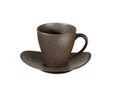 ASA Selection Koffiekop en Schotel Cuba Marone 20 cl