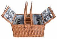 Cosy & Trendy Picknickmand Blauw 4 Personen