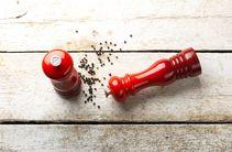 Le Creuset Pepermolen Kersenrood 21 cm