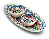 Dishes & Deco Ovale Pavo Set 3-Delig