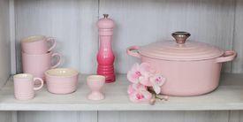 Le Creuset Zoutmolen Roze 21 cm