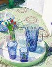 Koziol Schenkkan Crystal Transparant Blauw 1.6 Liter