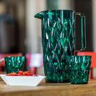 Koziol Schenkkan Crystal Transparant Groen 1.6 Liter