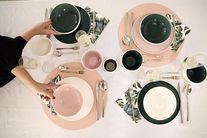 Villeroy & Boch Dinerbord It's my Match Roze Leaf Ø 24 cm