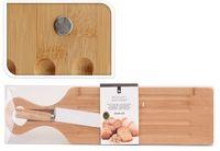 EH Brotschneidebrett Holz mit Messer
