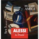 Alessi Bestekset Amici 5-Delig