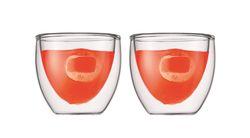 Bodum Dubbelwandige Glazen Pavina 8 cl - 2 Stuks