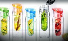 Asobu Drinkfles Flavour It 2 Go Rood Met Filter