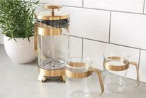 Barista & Co Cafetiere Midnight Gold 1 Liter