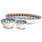 Dishes & Deco Ovale Mehari Set 3-Delig