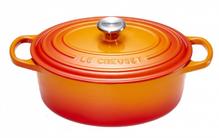 Le Creuset Braadpan Ovaal Signature Oranje-Rood Ø 31 cm