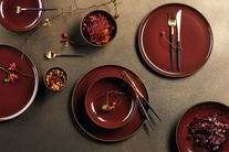 ASA Selection Dessertbord Kolibri Rusty Red Ø 20 cm